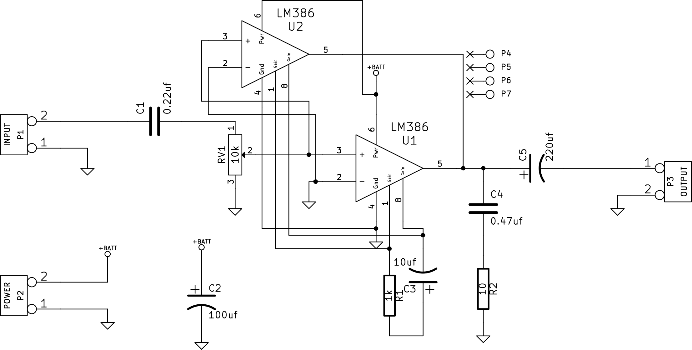 mini amplifier kit