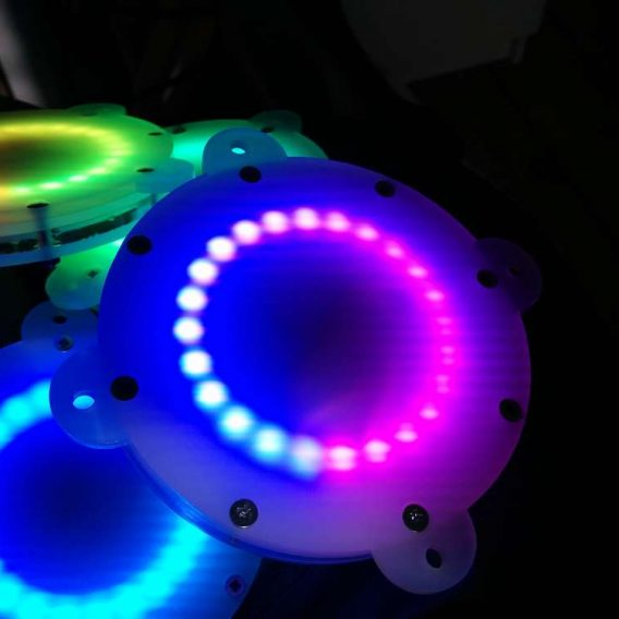 LED neopixel unit