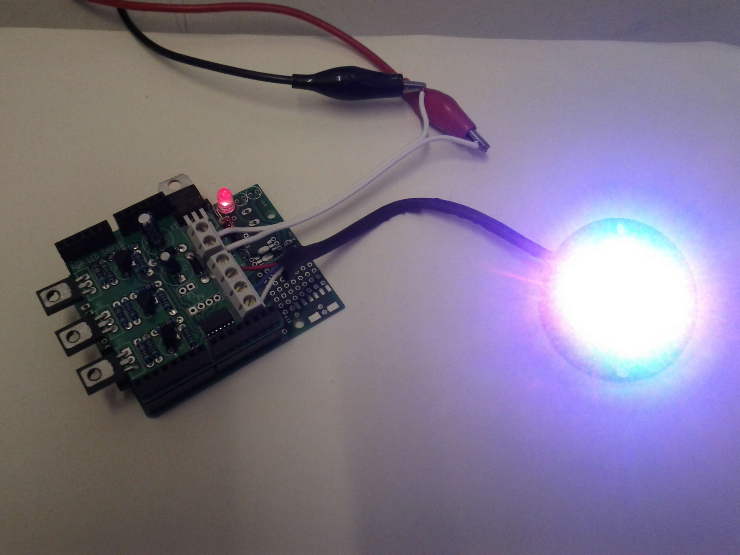 Rgb led arduino shield renewable energy innovation