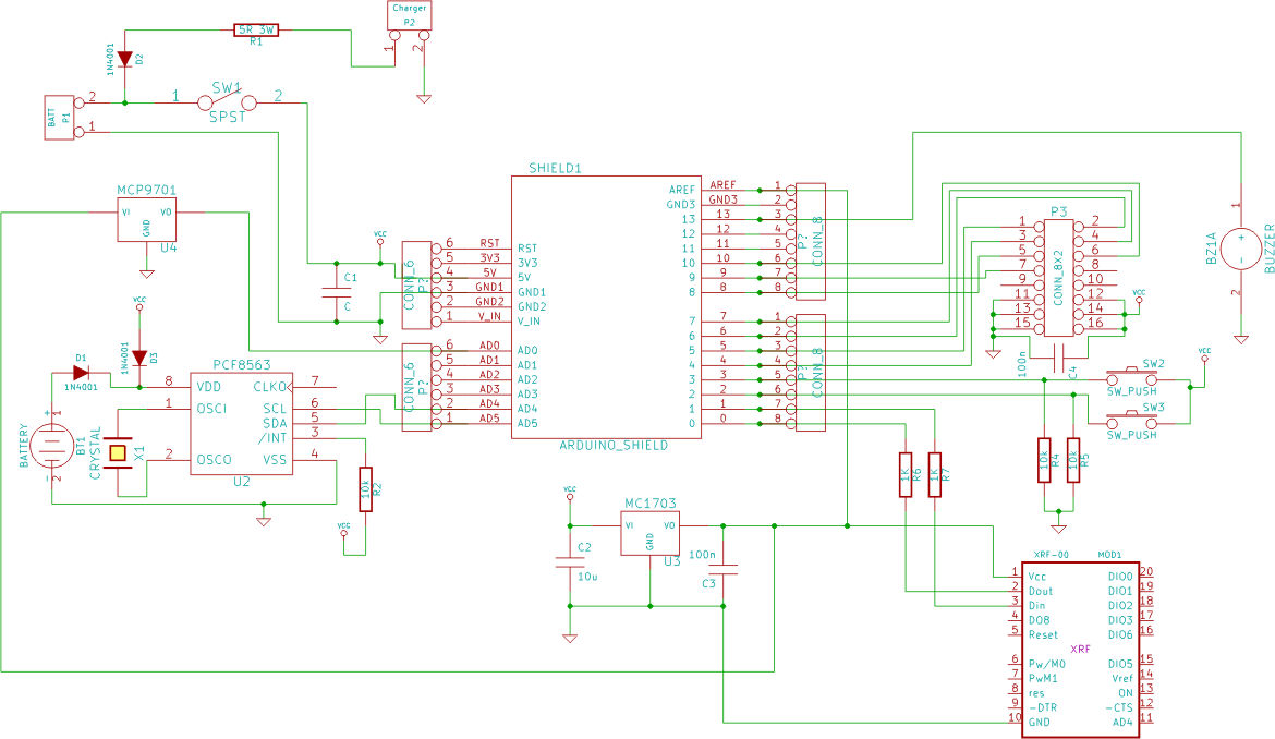 using a real time clock with a microcontroller \u2013 renewable energythe circuit diagram is available for download here
