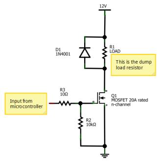 MOSFET driver schem