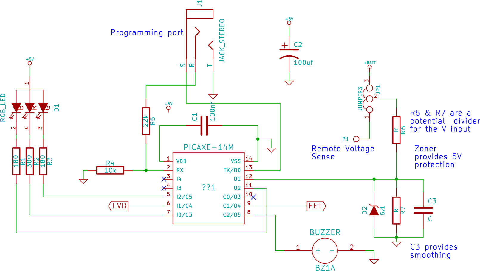 Logic Power Control Circuit For 78xx Regulator Open Design Charge Project Renewable Energy Innovation Picaxe
