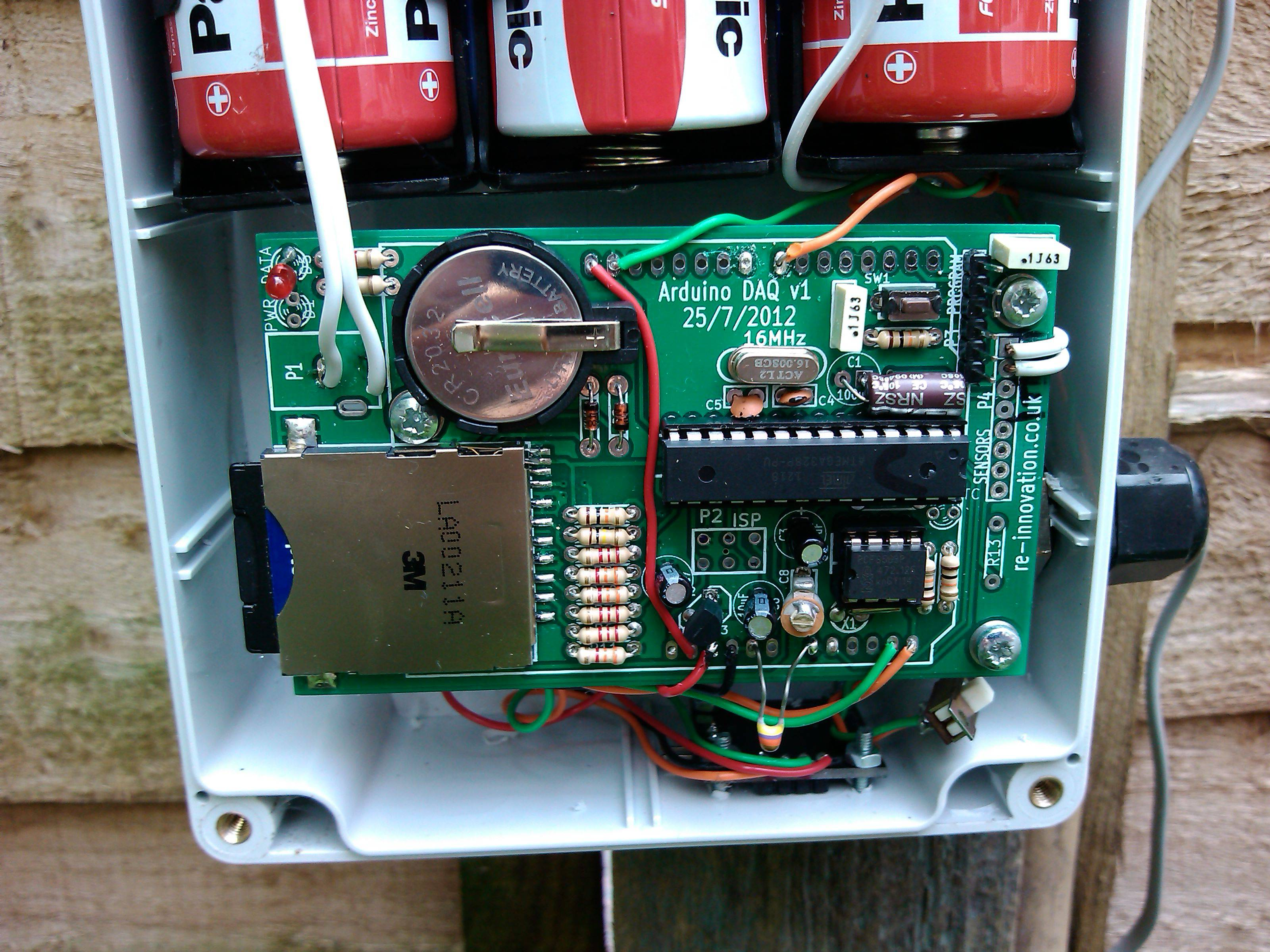 Low Cost Wind Datalogger Renewable Energy Innovation Pickit 2 Circuit Diagram Prototype Version Photos