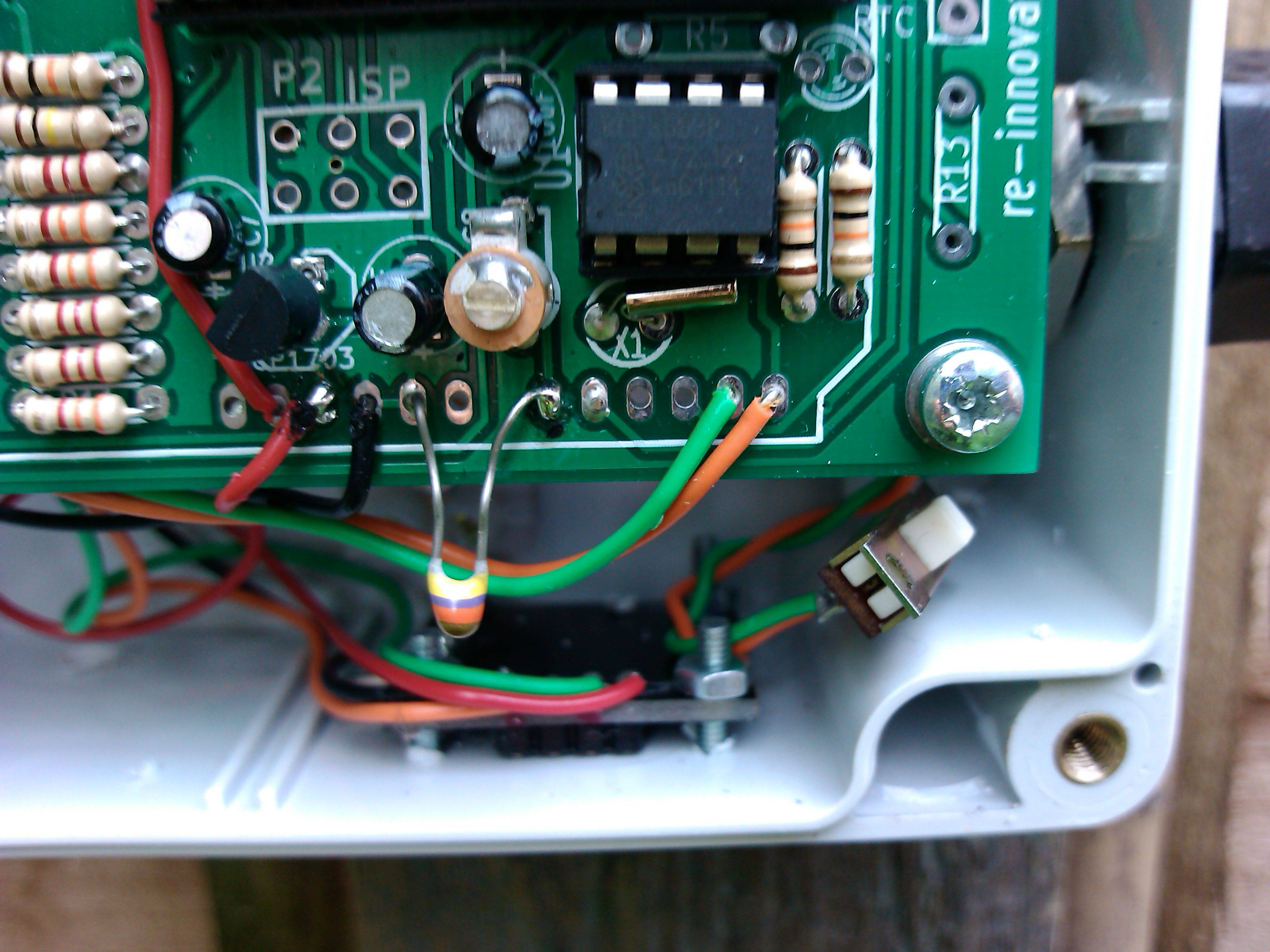 Low Cost Wind Datalogger Renewable Energy Innovation Small Turbine Wiring Schematic Prototype Version 2 Photos